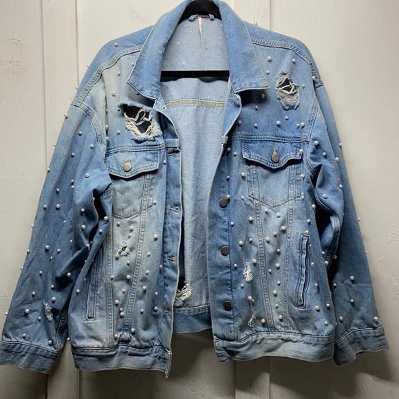 Free People Sunday Funday denim jacket